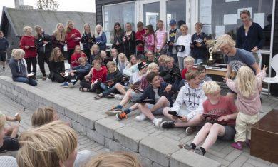 Kerteminde Sejlklub, og team Sailextreme, 8. & 9. juni 2019 gør det nemt at være forældre lørdag aften. De har maden klar:-)