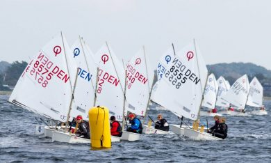 Indbydelse til Optimist Horsens Tune-Up race 2019