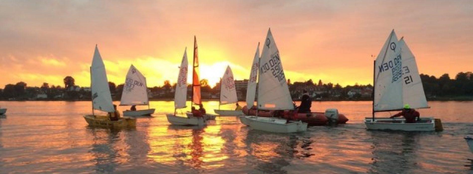 Indbydelse til landlejr i Oure for alle optimist A sejlere